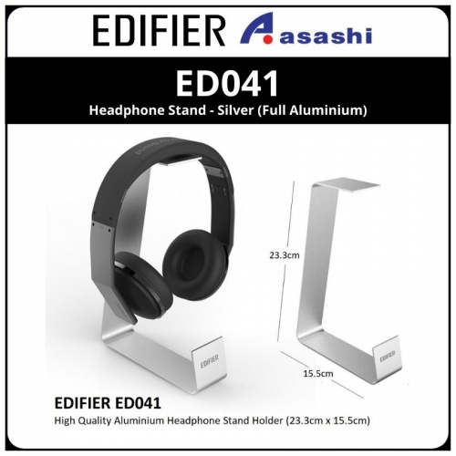 Edifier ED041 Headphone Stand - Silver (Full Aluminium)