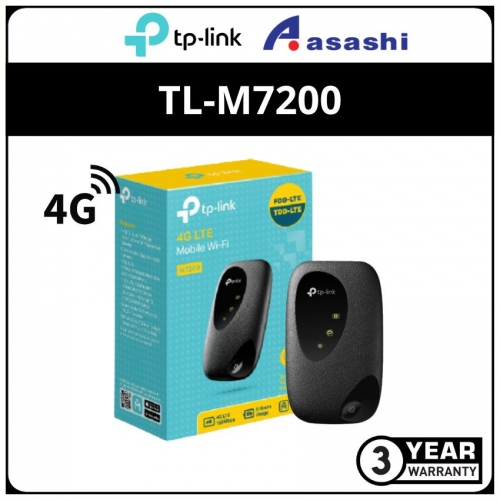 TP-Link TL-M7200 4G LTE Mobile Wi-Fi