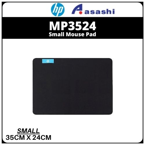 HP Small Mouse Pad-Black (MP3524)