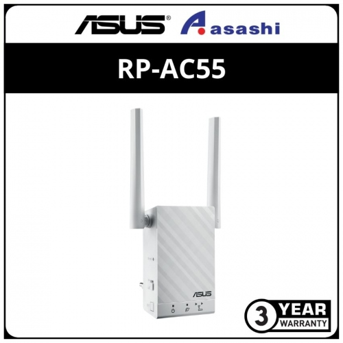 Asus RP-AC55 Wireless AC1200 DualBand Range Extender with 2 Antenna