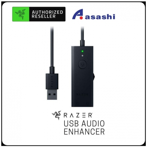 Razer USB Audio Enhancer (USB Recording Enhancer Dongle, Duo Recording Capability) RZ19-02310100-R3M1